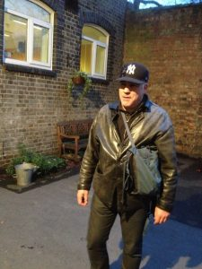 Lewis Schaffer Leather and BB Hat