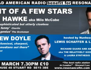 Huge Fundraiser in Nunhead for Resonance FM